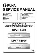 Buy FUNAI DPVR-5500 5500V SERVICE MANUAL Manual by download Mauritron #185146