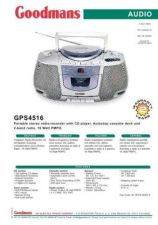Buy GOODMANS GPS4516 by download #125467