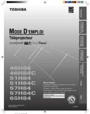 Buy TOSHIBA 57H84 OM F OPERATING GUIDE by download #129401