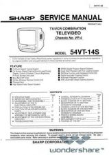 Buy Sharp 54VT14S SM GB Manual.pdf_page_1 by download #178660