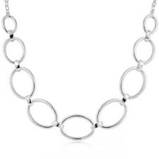 Buy Contemporary Oval Link Necklace