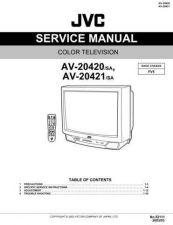 Buy JVC AV-20420 Service Schematics by download #155304