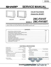 Buy Sharp 29CFX10T-FH100T SM GB(1) Manual.pdf_page_1 by download #178192