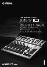 Buy Yamaha MW10_EN_OM Operating Guide by download Mauritron #203953