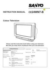 Buy Sanyo CE24WN7-B VER2 Manual by download #173005