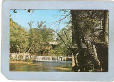 Buy AL Alpine Covered Bridge Postcard Historic Kymulga Mill & Covered Bridge W~1