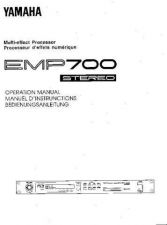 Buy Yamaha EMP700E Operating Guide by download Mauritron #204643