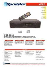 Buy ROADSTAR VCD-300A by download #128565