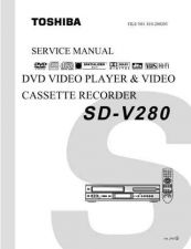 Buy TOSHIBA SDV320SCACD Service Schematics by download #160445