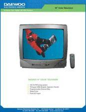 Buy DAEWOO DTQ-19V1FC Manual by download #184027