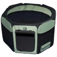 Buy Pet Gear Travel Lite Soft-Sided Pet Pen Removable Top Small Sage