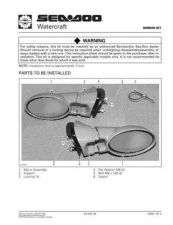 Buy SEADOO SSI9711A Service Manual by download #157734