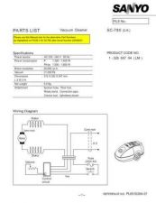 Buy Sanyo SC25 PL650038 Manual by download #175195