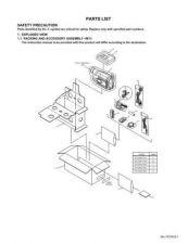 Buy JVC GR-SXM277UMPARTS TECHNICAL DATA by download #130954