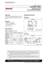 Buy SEMICONDUCTOR DATA LA6458MJ Manual by download Mauritron #188787