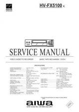 Buy MODEL HVFX5100 Service Information by download #124210