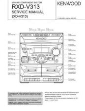 Buy KENWOOD RXD-M32 Technical Info by download #152046