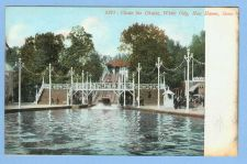 Buy CT New Haven Chute The Chute White City View Of Chute Ride Into Water~543