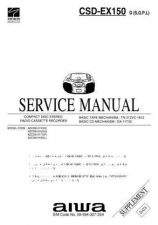 Buy AIWA CSD-NS1 TECHNICAL INFO by download #125241