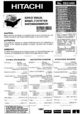 Buy HITACHI No X831455EFG Service Data by download #147426