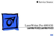 Buy APPLE LASERWRITER PRO 600 630 Service Manual by download #149944