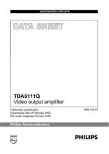 Buy SEMICONDUCTOR DATA TDA7052BJ Manual by download Mauritron #190846