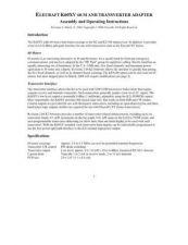 Buy ELECRAFT K60XV MAN REV A by download #120131
