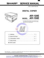 Buy Sharp AR121E-151E SM V2 GB(1) Manual by download #179331