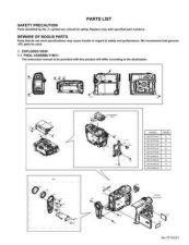Buy JVC GR-D395US par Service Schematics by download #155604