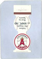 Buy CA Anaheim Sport Baseball Contour Matchcover 1981California Angels Home Sc~198