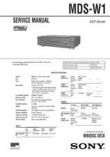 Buy SONY MDS-JB730 SERVICE MANUAL by download #128837