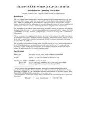 Buy ELECRAFT KBT1MAN REVA by download #120141