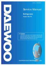 Buy Daewoo Model FR-195 Manual by download #168589