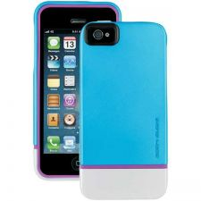Buy Body Glove Iphone 5 Icon Hybrid Case (teal And Silver And Pink)