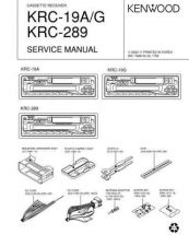 Buy KENWOOD KRC-188G Technical Info by download #151932
