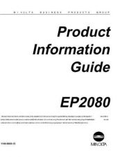 Buy Minolta PRODINFO Service Schematics by download #137579