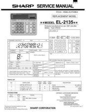 Buy Sharp 301 EL2135 Manual by download #178210
