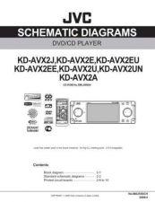 Buy JVC KD-AVX2 sch Service Schematics by download #156046