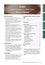 Buy Yamaha 02R96V2E3 Operating Guide by download Mauritron #204348