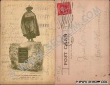 Buy CT New London Postcard Statue To John Winthrop Jr Founder Of New London Ma~1883