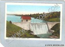 Buy CT Meriden Postcard New Reservoir & Dam ct_box3~1311