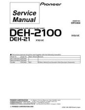 Buy PIONEER C2450 Service Data by download #152640