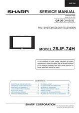Buy Sharp 28HW57C SM GB(1) Manual by download #169891
