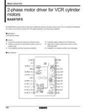 Buy INTEGRATED CIRCUIT DATA BA6970FSJ Manual by download Mauritron #186670