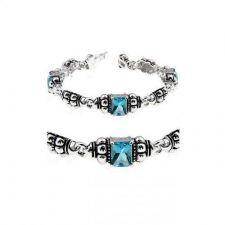 Buy Aqua Cz Ball Bracelet