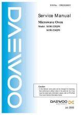 Buy Daewoo Model KOR-1B5C9S Manual by download #168641