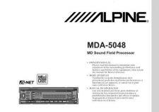 Buy ALPINE MDA5048 MANUAL by download #125378