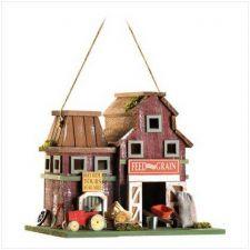 Buy Farmstead Wood Barnyard Birdhouse
