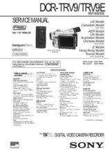 Buy MODEL DCRTRV9 Service Information by download #124068