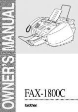 Buy Brother UM_FAX1800C Service Schematics by download #134700